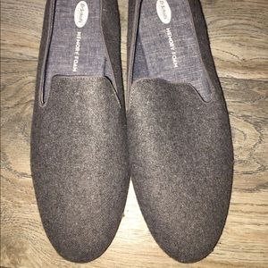 Dr Scholls Gray Wool Slip Ons Sz 8 New